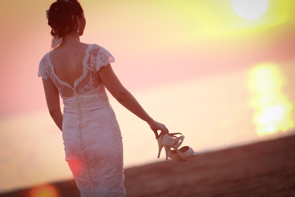 abito da sposa fatto artigianalmente a Pistoia