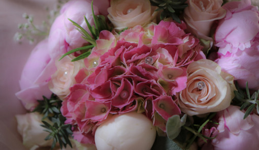 Bouquet Ortensie E Rose : Bouquet sposa romantico con peonie e ortensie my wedding