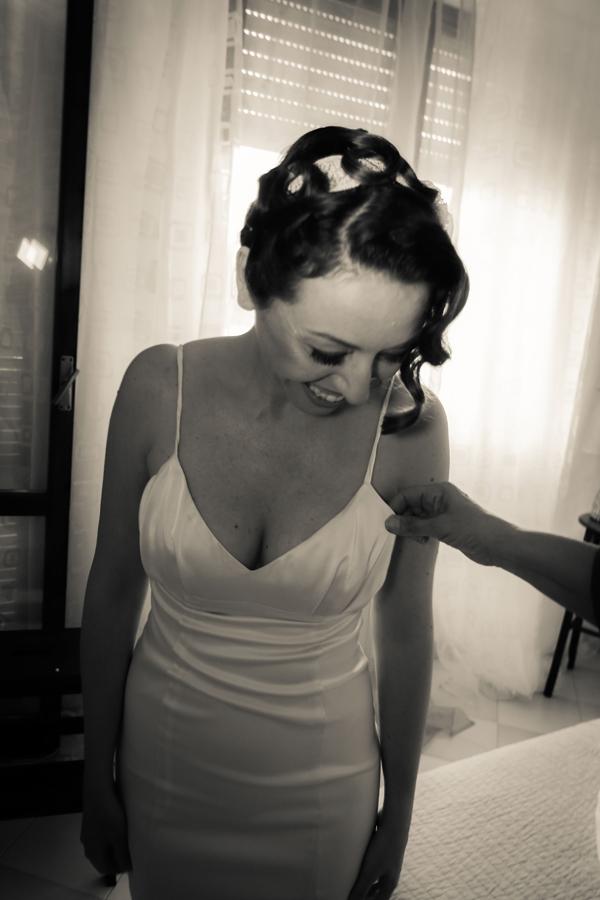 acconciatura sposa: il raccolto della sposa oculata