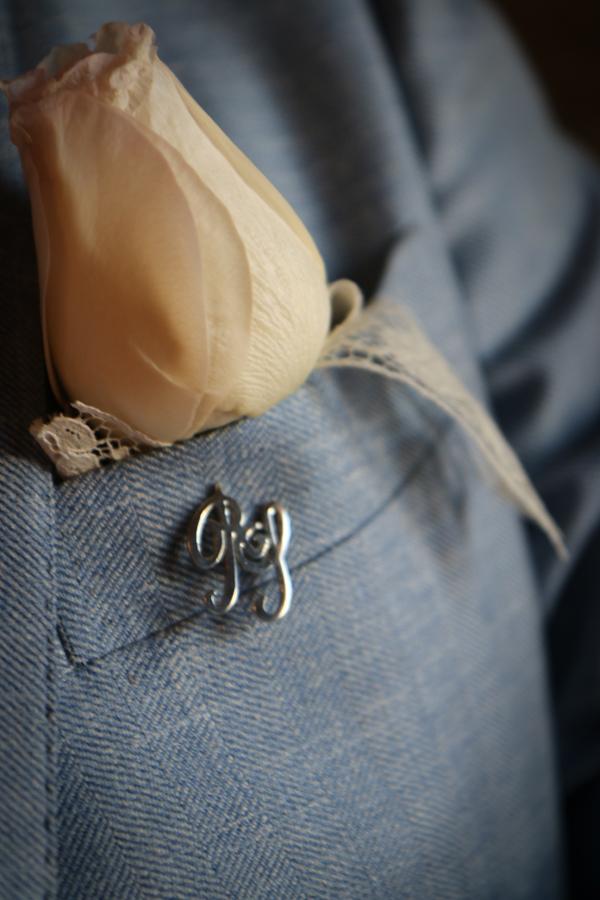 abito sposo vintage: bottoniera