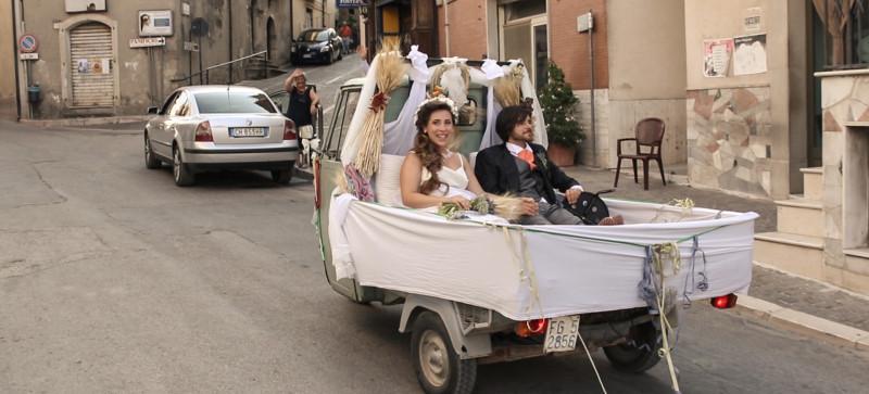 alternativa all'auto degli sposi