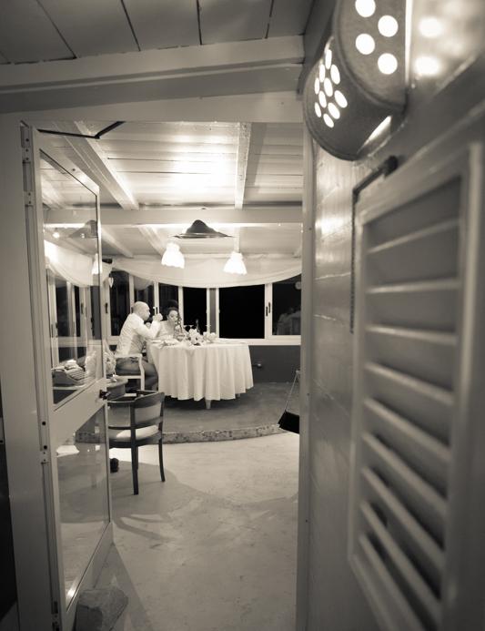 banchetto nuziale ristorante sul mare