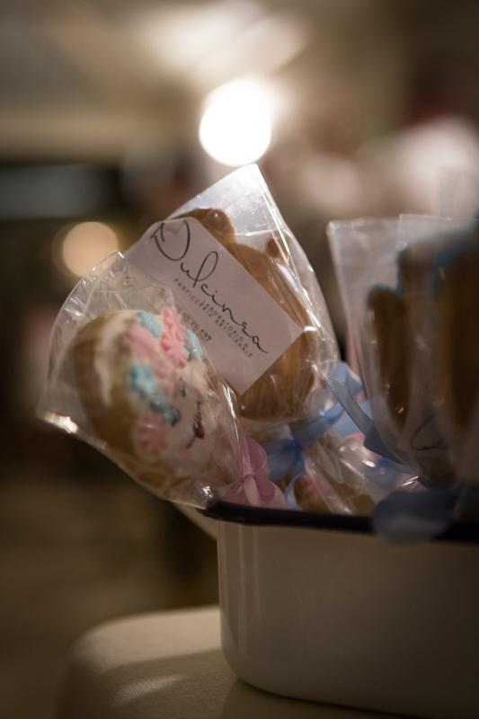 torte nuziali: bicottini a forma di sposini