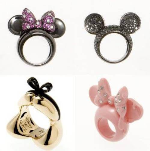 fedi nuziali particolari in oro bianco tema Disney