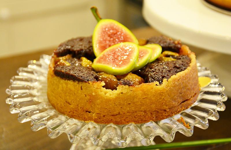 Pistoia wedding open day: torta fichi e frangipane al cioccolato