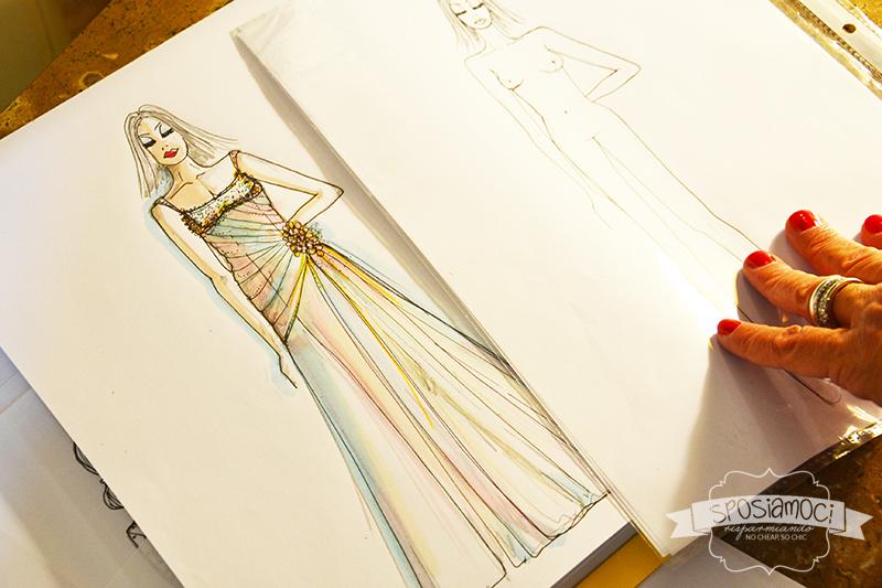 Disegnare abiti da sposa online gratis