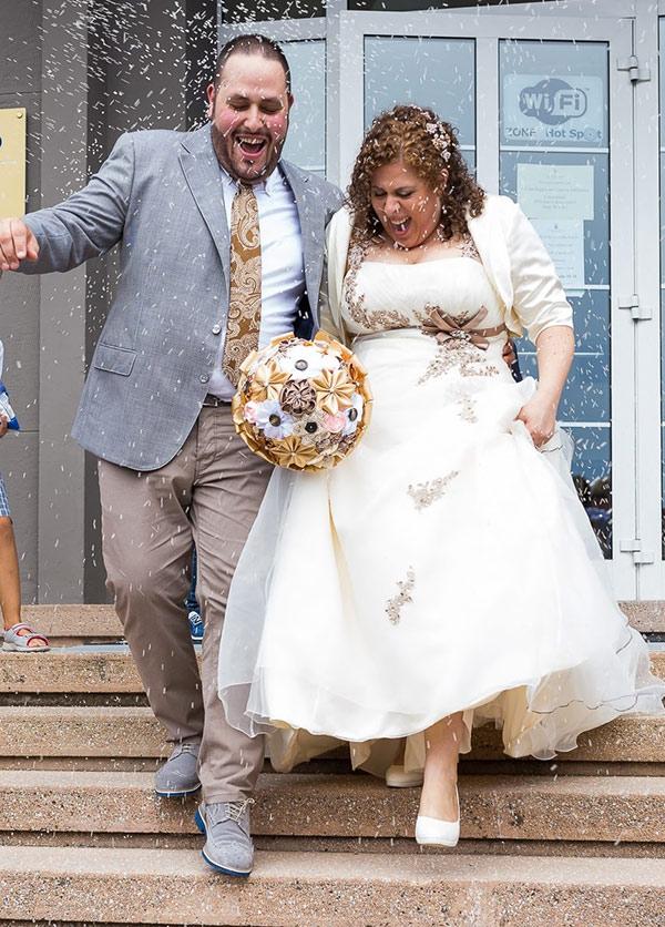 vestito low cost adatto sposa in carne