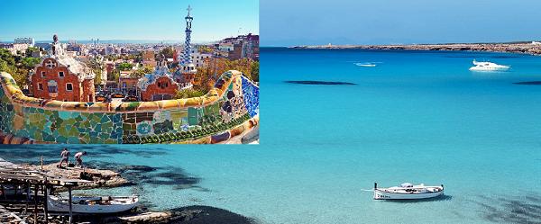 Mete viaggio di nozze low cost: Spagna e Formentera