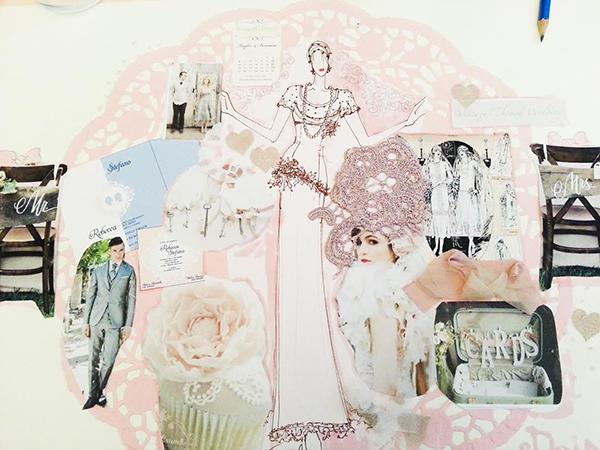 matrimonio con lo sponsor vintage in Toscana: progettazione wedding design