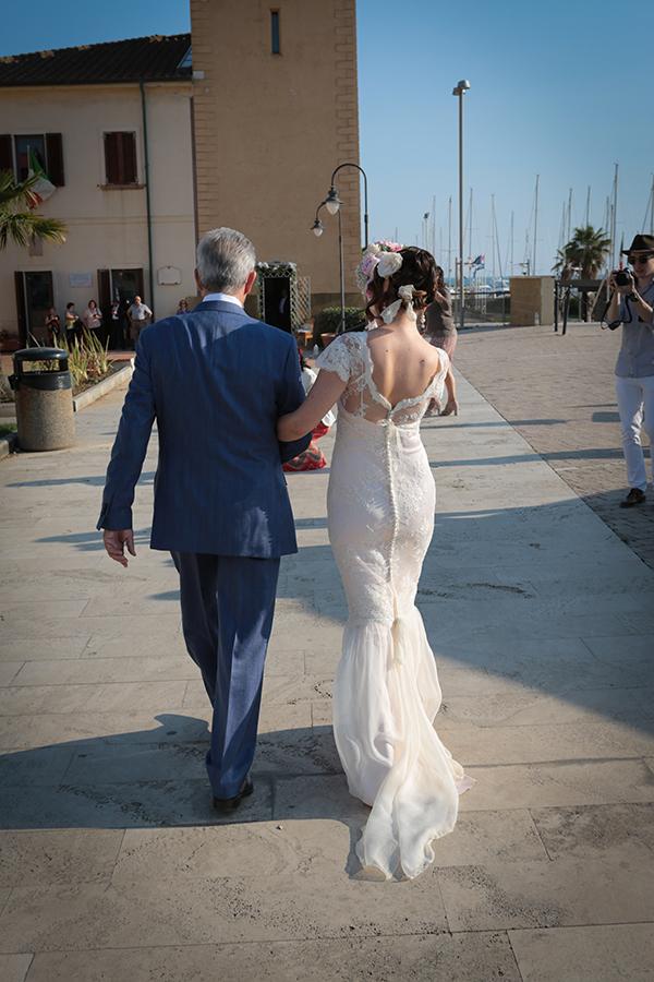 matrimonio-vintage-arrivo-sposa