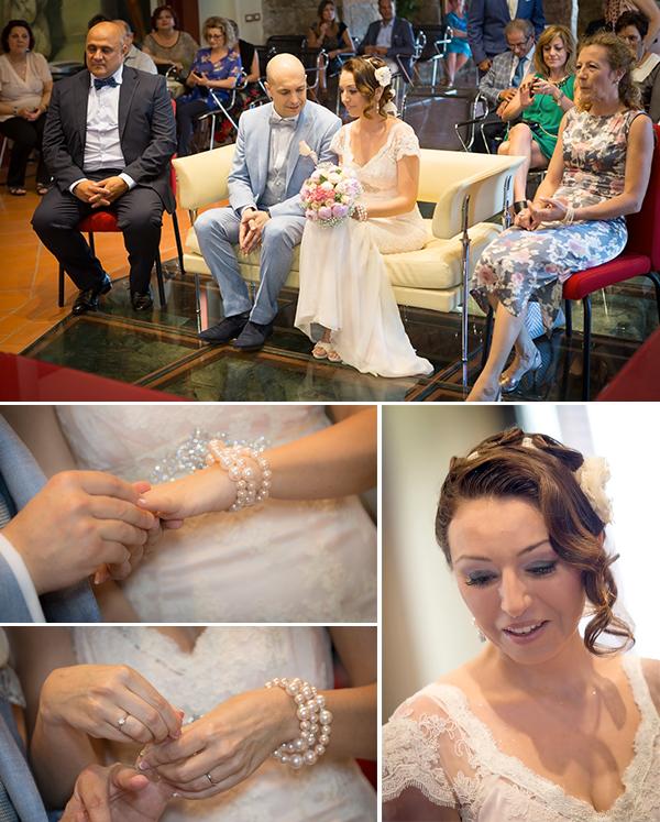 servizio fotografico matrimonio: le foto della cerimonia e dello scambio degli anelli