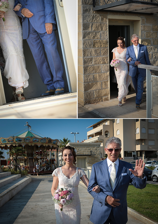 matrimonio-vintage-sulla-spiaggia-arrivo-della-sposa