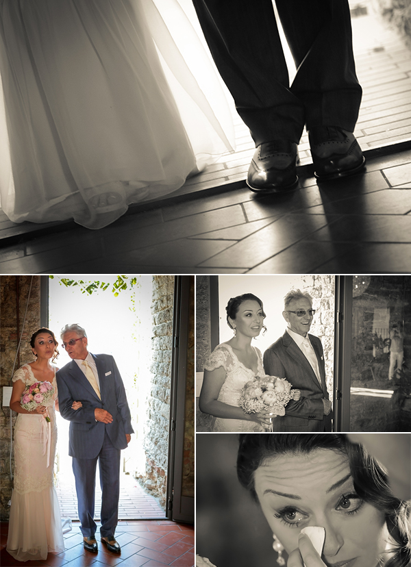 servizio fotografico matrimonio: foto entrata della sposa