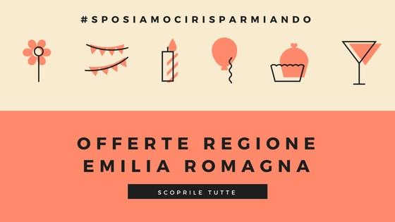 Offerte in Emilia Romagna | Nozze low cost