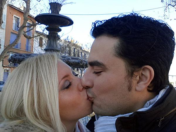sposi con lo sponsor: Maria & Modesto