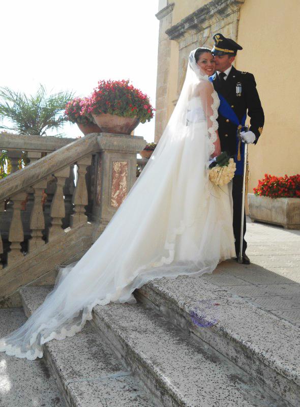 matrimonio in uniforme classico in Calabria: Alessandro e Valentina