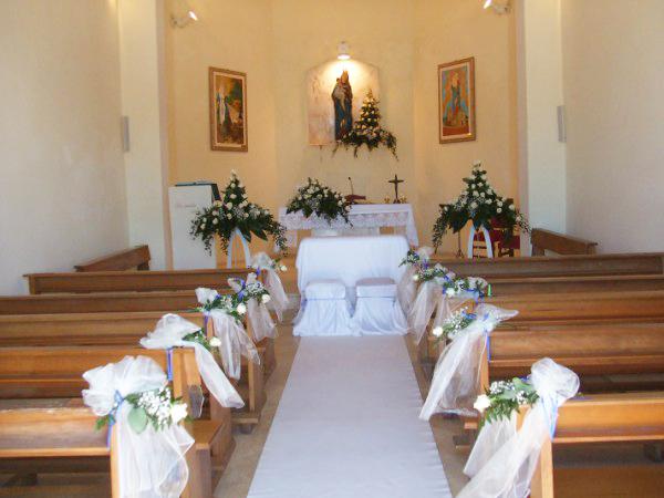 Matrimonio in uniforme in Calabria: il Palazzo delle Clarisse, Amantea (CS). Ex convento di monache di clausura, allestimento chiesa