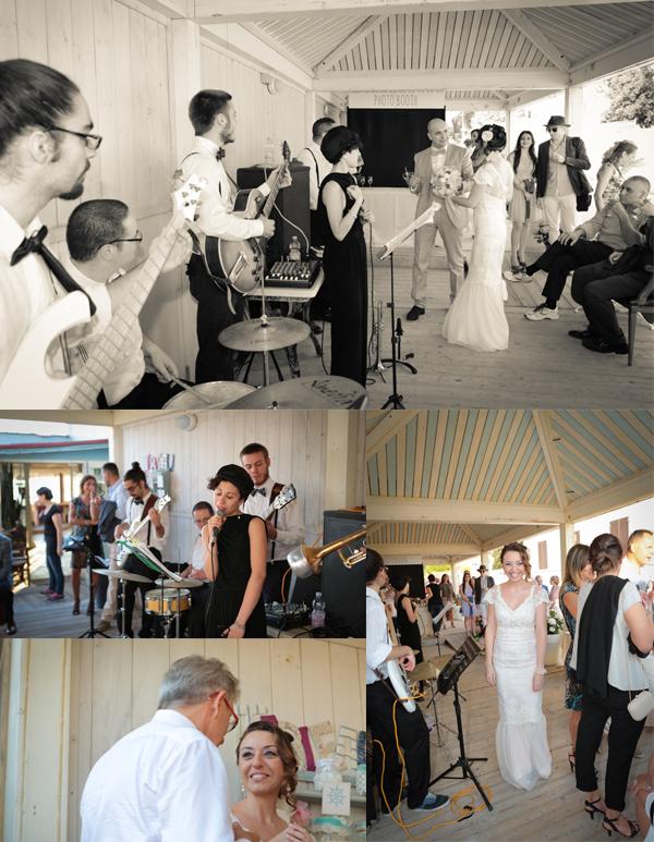 musica live repertorio anni '30 per un matrimonio vintage sul mare della toscana