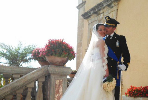 matrimonio in uniforme