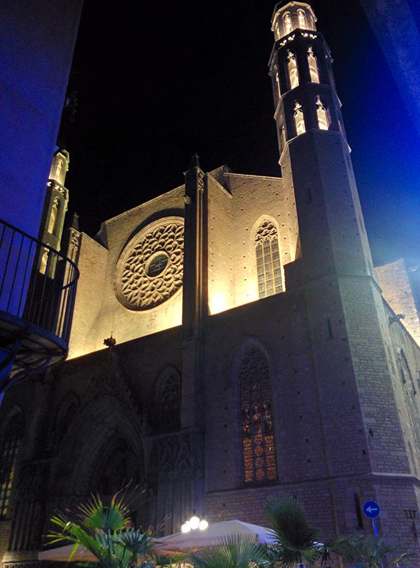 viaggio a Barcellona low cost: chiesa di Santa Maria del Mar