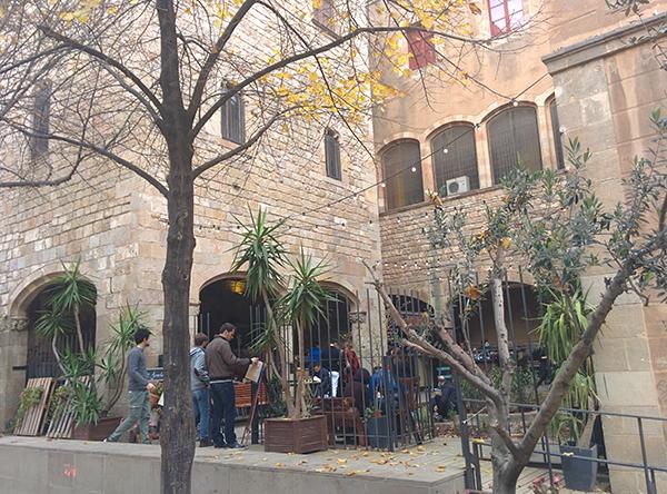 viaggio di nozze a Barcellona: Biblioteca de Catalunya