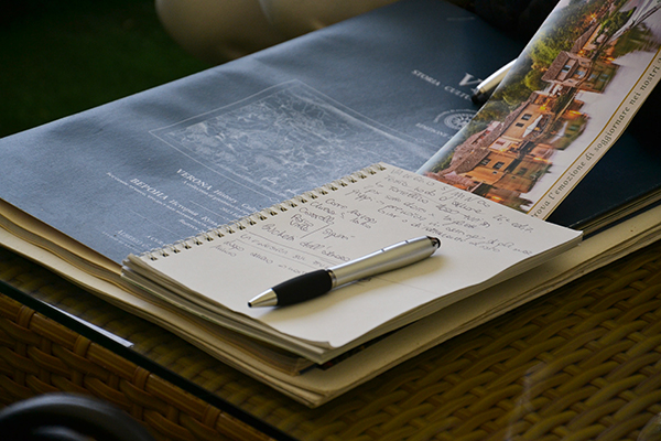 write my wedding