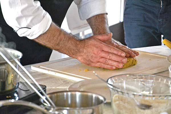 cooking show di Paolo Becatti, chef di Villa Conti Cipolla