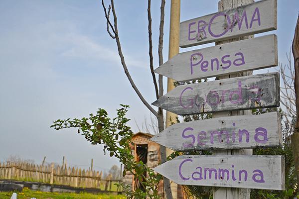 l'orto di Eroma Agrturismo: location per matrimoni sul Lago di Garda
