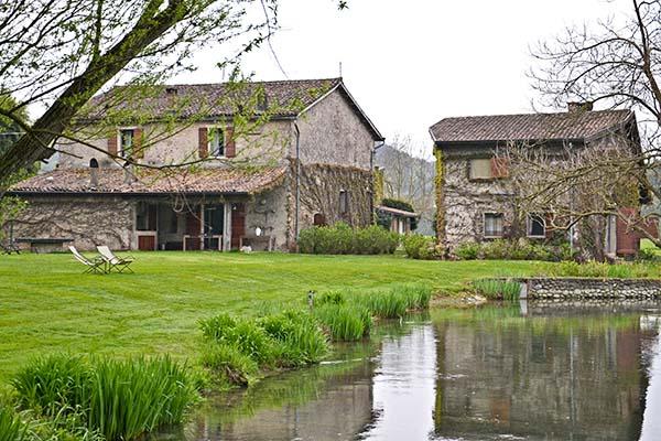 location per matrimoni sul Lago di Garda: La finestra sul fiume