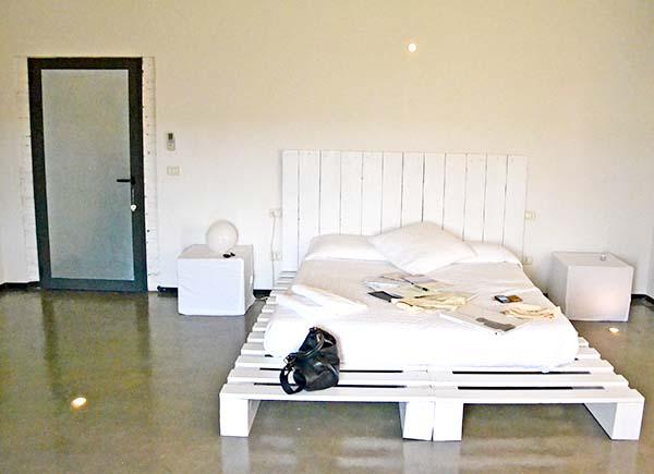 Camera Eva di Eroma Agriturismo: location per matrimoni sul Lago di Garda