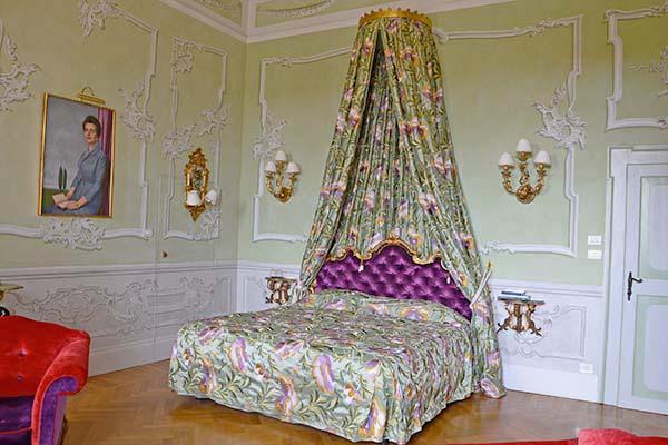 ville per matrimoni Lago di Garda: esempio di camera Villa Sigurtà