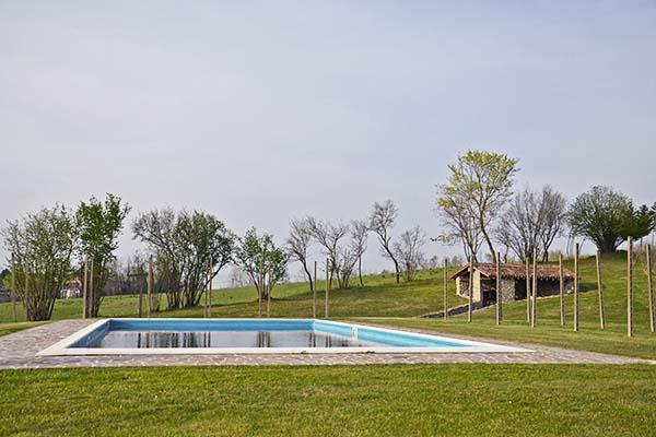 location per matrimoni sul Lago di Garda: piscina Eroma Agrturismo