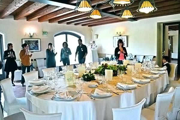 Ville per matrimoni Lago di Garda: mise en place Villa Conti Cipolla