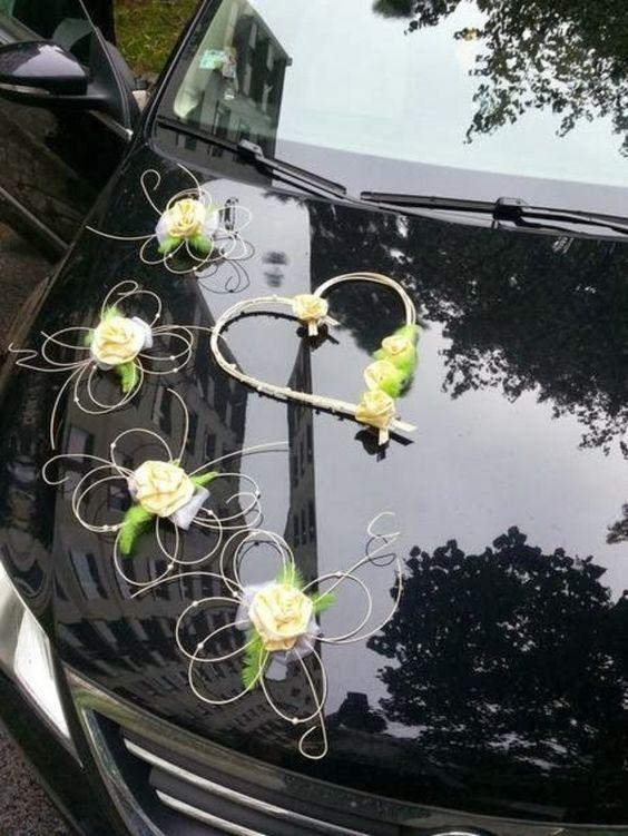 decorazioni auto sposi fai da te