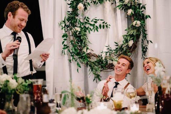 galateo invitati a un matrimonio: il discorso agli sposi