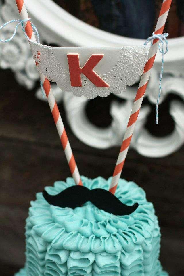 cake topper coi centrini di carta