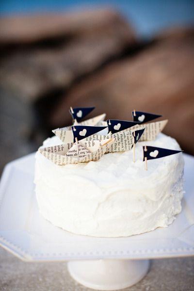 cake topper economici con la carta