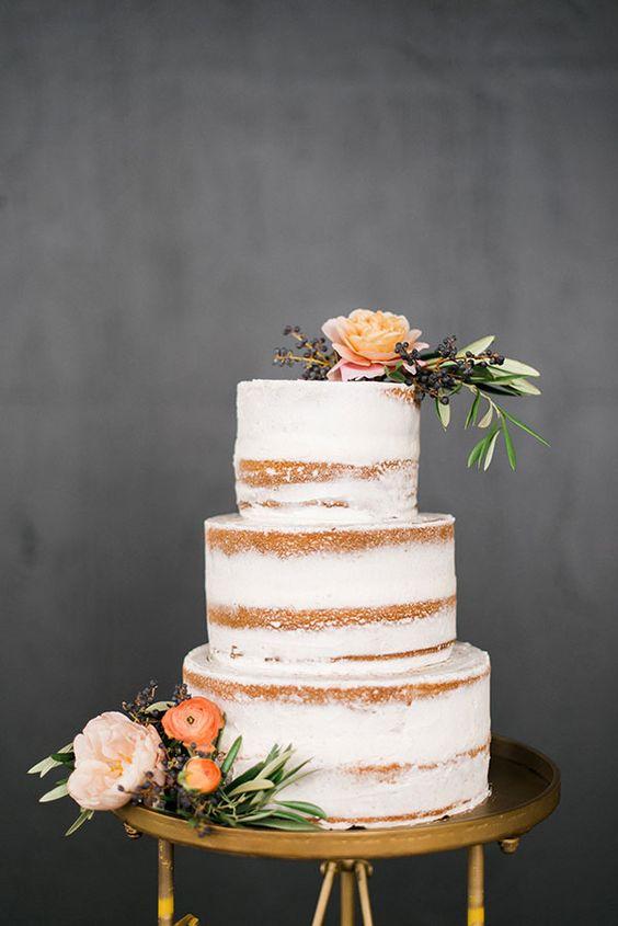 naked cakes autunnali