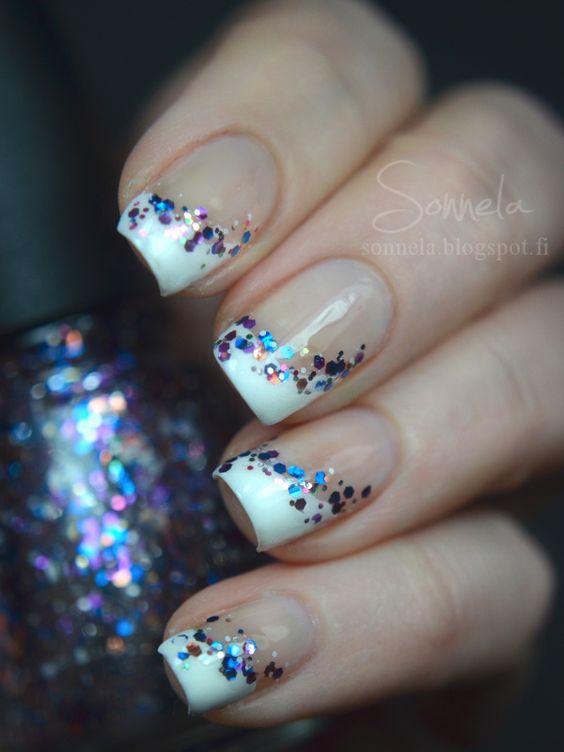 unghie gel nail art sposa