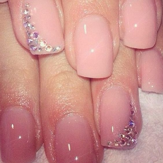Favorito Unghie in gel: 32 nail art sposa favolose | SR wedding blog OA48