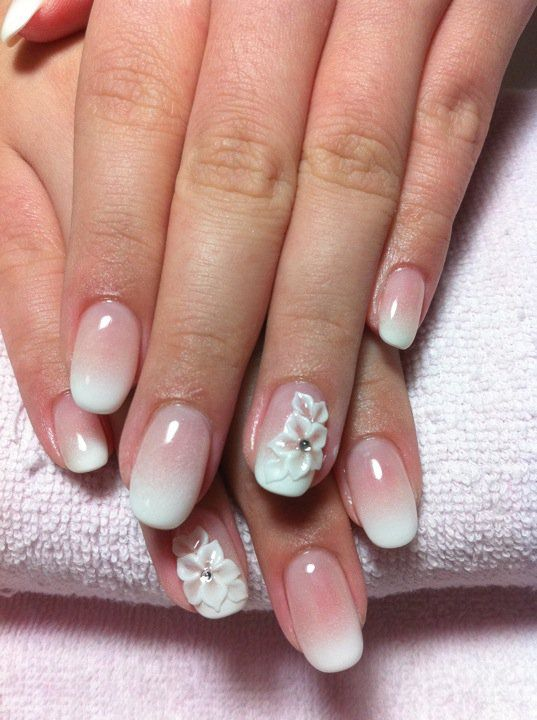Ben noto Unghie in gel: 32 nail art sposa favolose | SR wedding blog HC27