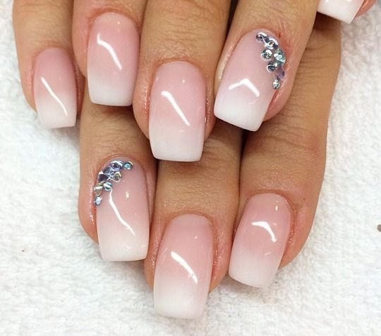 Popolare Unghie in gel: 32 nail art sposa favolose | SR wedding blog NO03