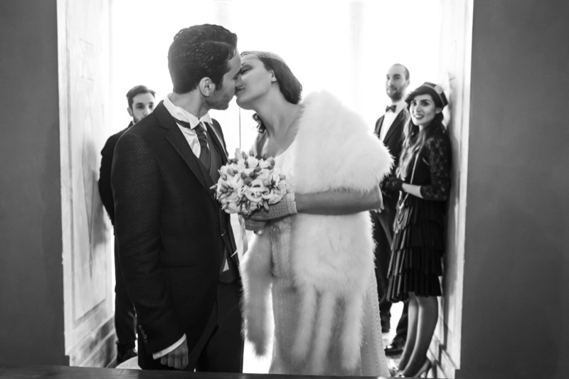 inspiration shoot matrimonio a tema Grande Gatsby