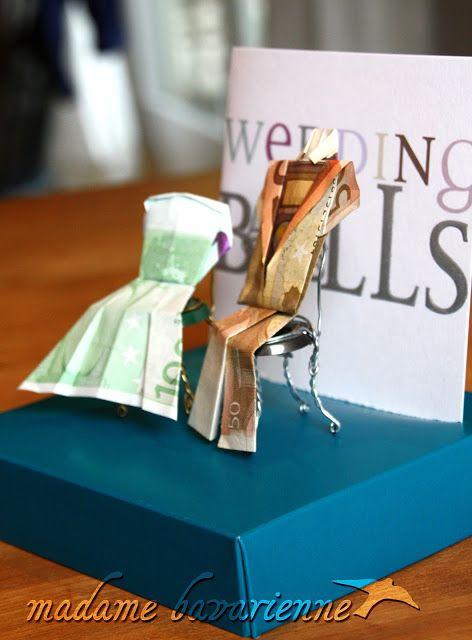 un modo simpatico per regalare soldi agli sposi