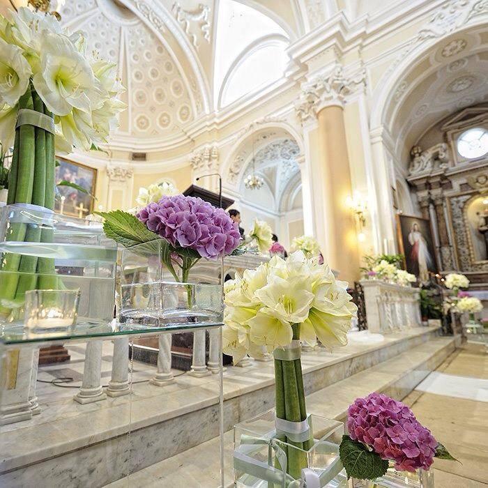 fiori di matrimonio chiesa