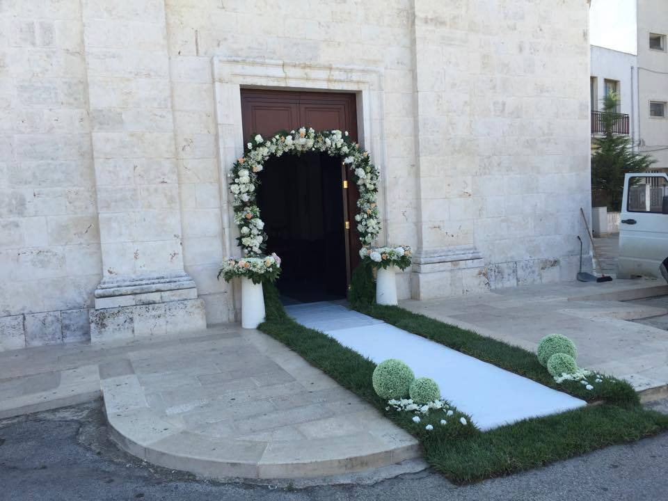 fiori di matrimonio chiesa Green Garden Gadaleta