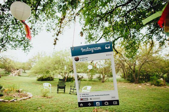 photo booth matrimonio fai da te instagram