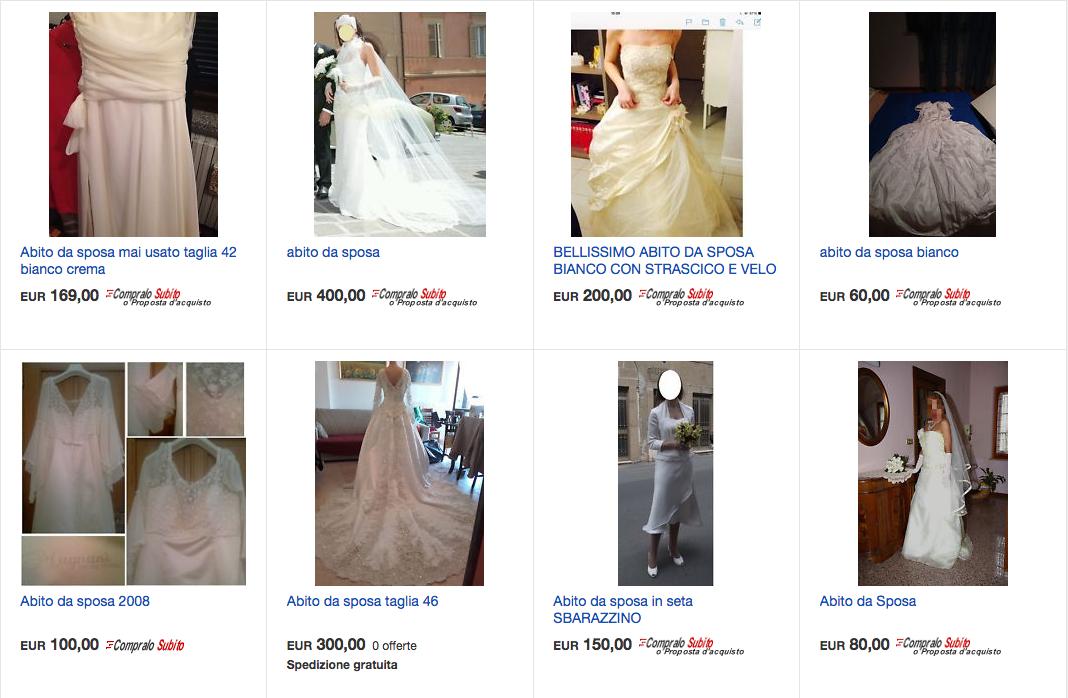 risparmiare sull'abito da sposa con un vestito di seconda mano