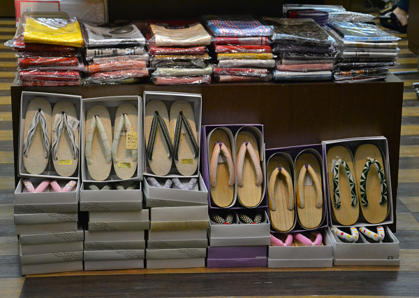zoccoli per kimono da donna
