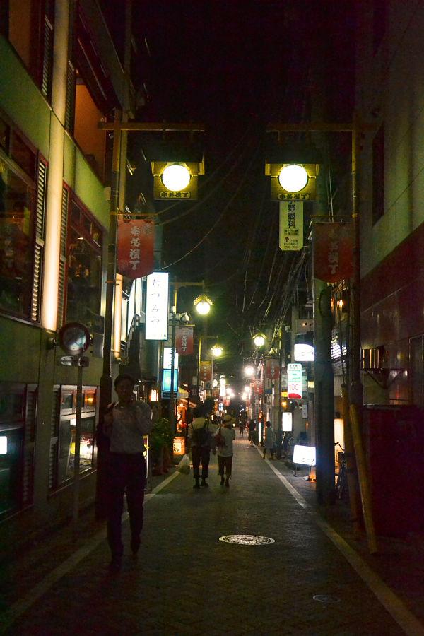 via di Kagurazaka in Tokyo